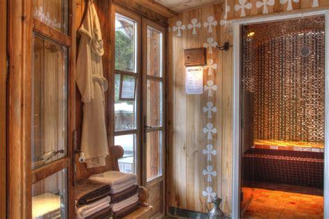 saunas hammams spas charming hotel chamonix