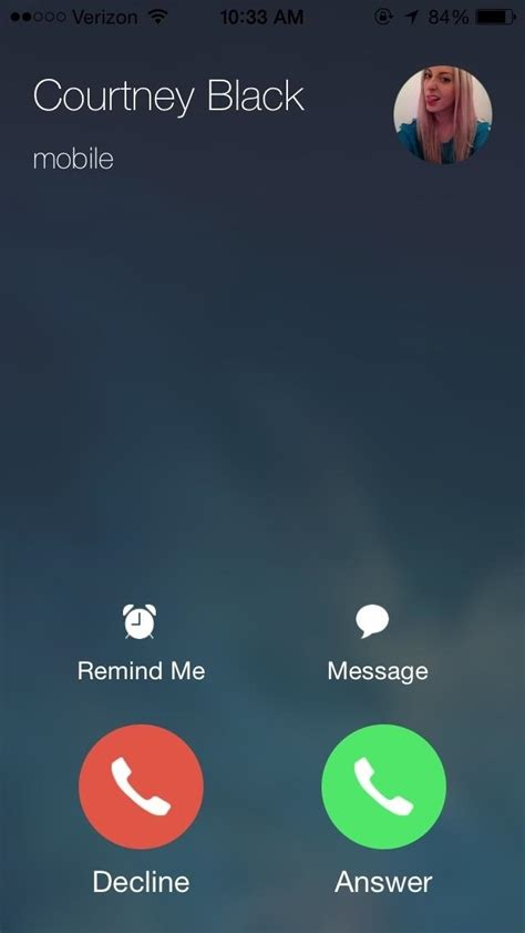 iphone call screen how to set incoming calls on your iphone to escape