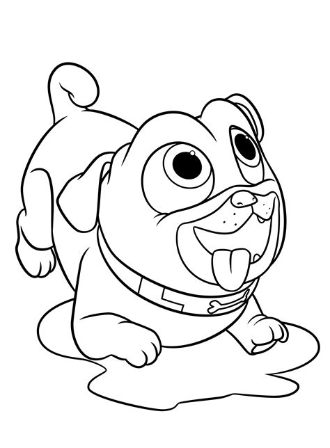 puppy dog pals coloring pages    print