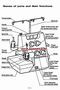 Brother 524 Instruction Manual