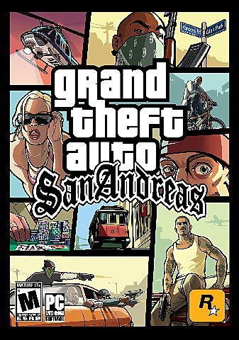 covers box art grand theft auto san andreas pc