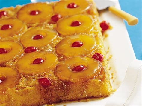 pineapple upside cake ideas  pinterest
