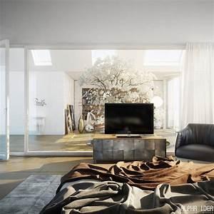 Interior, Glass, Wall