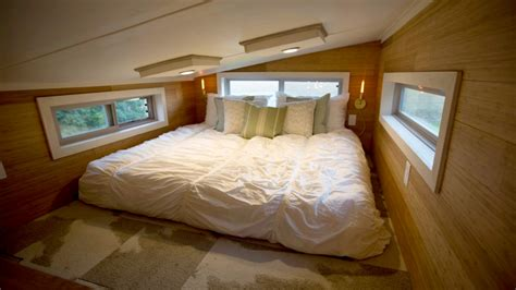 bedroom tiny house pursuit of happiness think tiny