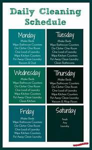 7 Day Week Schedule Template Does Your Home Have A Cleaning Schedule Use This Template