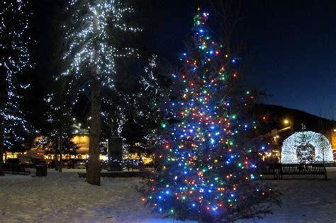 Photo Of The Day Town Square Illuminates Jackson Hole