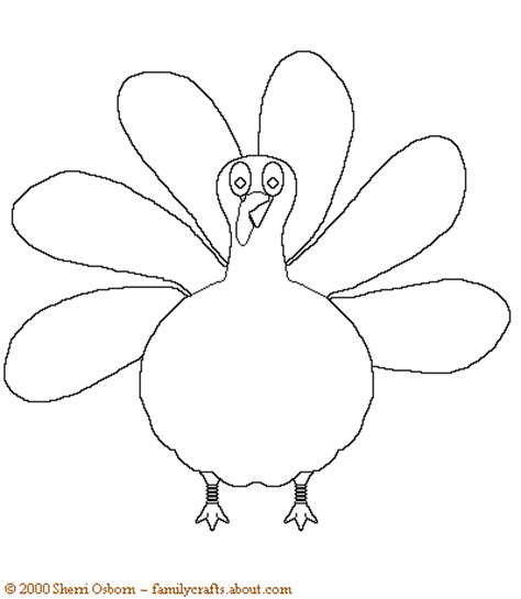 free printable turkey template blank turkey templates happy easter thanksgiving 2018