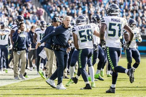 seahawks  panthers  seattle times