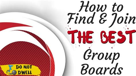How To Find And Join The Best Group Boards On Pinterest