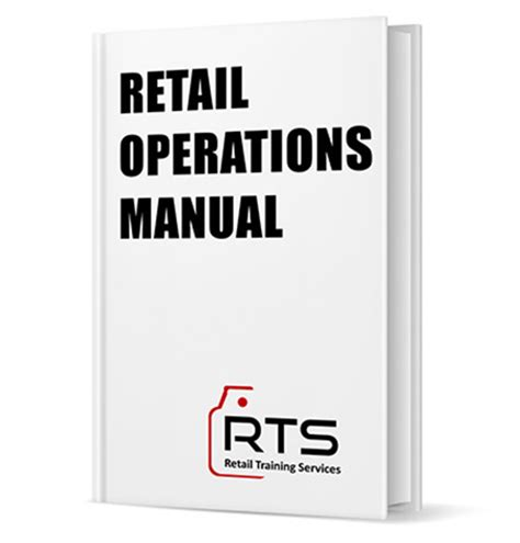 Store Operations Manual Template Image Collections