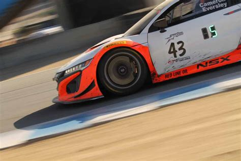 Acura Hours by Realtime Acura S Weekend At 8 Hours Of California At