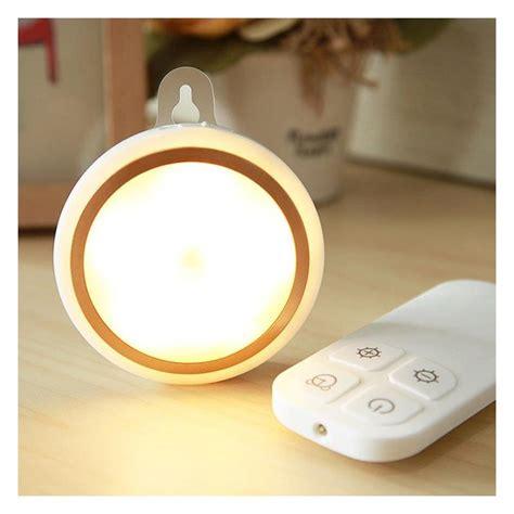 wireless remote control led night light smart bedroom