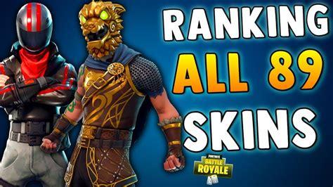 ranking  skin  fortnite battle royale