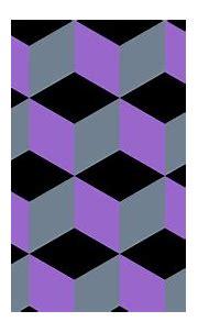 Wallpaper grey purple 3d cubes black #000000 #9966cc ...