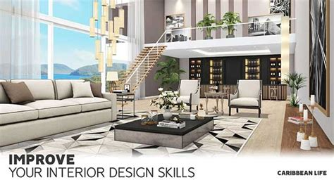home design caribbean life cho android  game