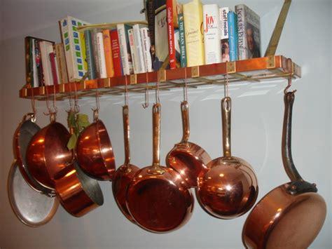 Kitchen Wall Pot Rack, Kitchen Bar Wall Pot Hangers