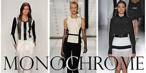 "Spring 2013 Trend Alert: ""Contrasting, Monochrome Mod ..."