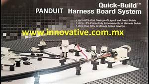 Panduit Quick-build Sistema Modular Para Fabricar Arneses De Cables - Wiring Harness Board