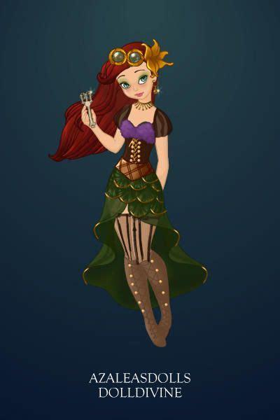 Steampunk Ariel ~ By ~zennia~ ~ Created Using The Pixie