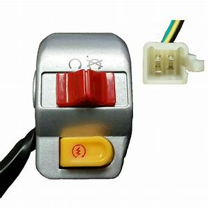 Right Handle Control Start Kill Switch 50cc 150cc Scooter