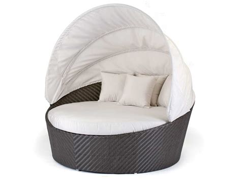 replacement cushions for patio caluco dijon wicker daybed with sunbrella 5404