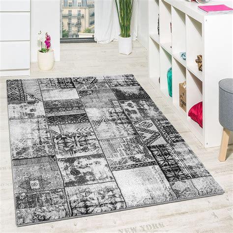 wohnzimmer teppich grau orient muster teppichde