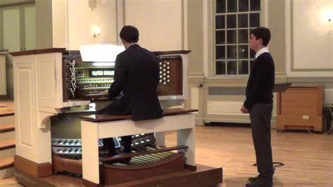 Bach Passacaglia In C Minor Bwv 582 Youtube
