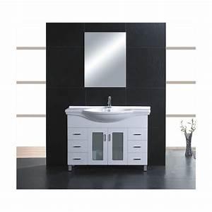 meuble de salle de bain elegance achat vente meuble With porte d entrée pvc avec vasque ceramique salle de bain