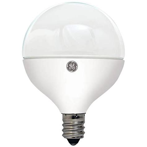 60w equivalent ge frosted led dimmable candelabra g16