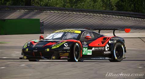 italian gt series ferrari  gt easy race team  yuji