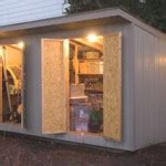 Adding Electrical Wiring Outdoor Shed Landscape