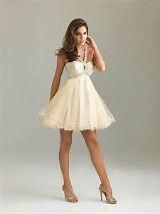 Neutral Champagne Color Prom Dresses Ideas – Designers ...