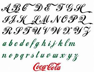 fashion font coca cola style vinyl adhesive lettering With vinyl lettering font styles