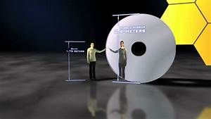 Hubble vs James Webb Space Telescope mirror size - YouTube
