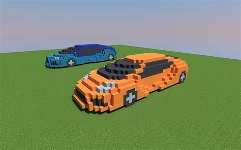 Sports Car Minecraft by Sports Cars Minecraft Project