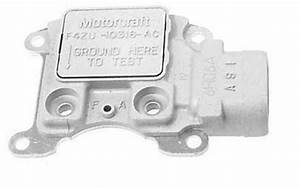 Ford 3g Alternator   Voltage Regulator 12 Volt   White