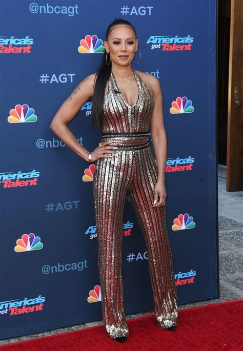 mel b hits red carpet without wedding ring since