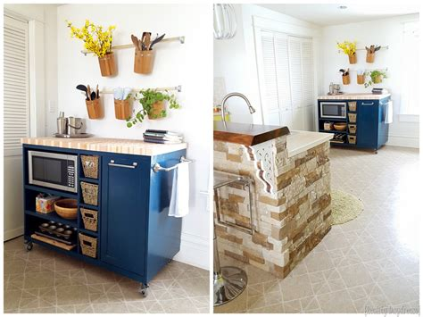 roll around kitchen island custom diy rolling kitchen island daydream