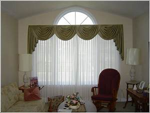 Kitchen curtain ideas for large windows for Kitchen curtain ideas for large windows