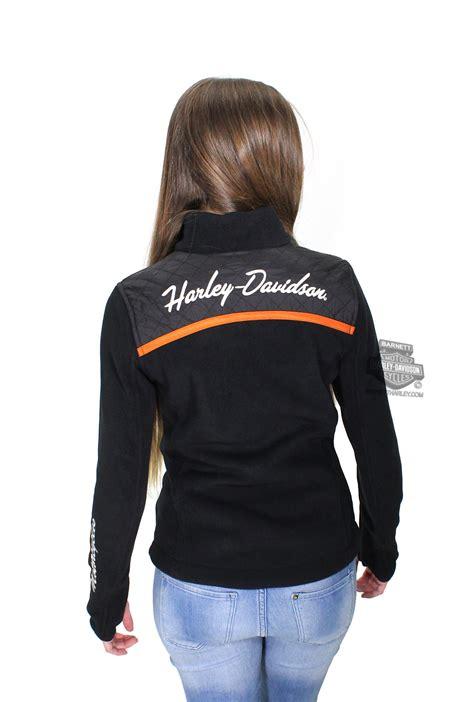 Harley Davidson Womens  Enthusiast Bs Mock Neck