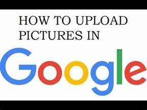 How To Post Picture To Google