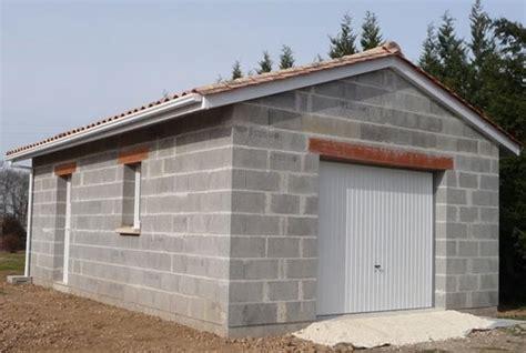 devis construction garage prix de construction