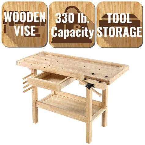 olympia  ft   ft  lbs hardwood workbench