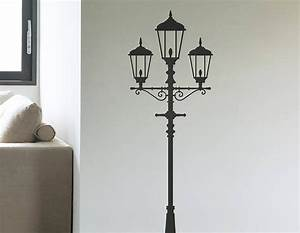 traditional lamp post vinyl wall sticker contemporary With vinyl wall stickers