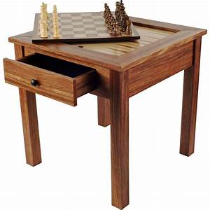 Trademark Games Deluxe Wooden 3-in-1 Chess and Backgammon