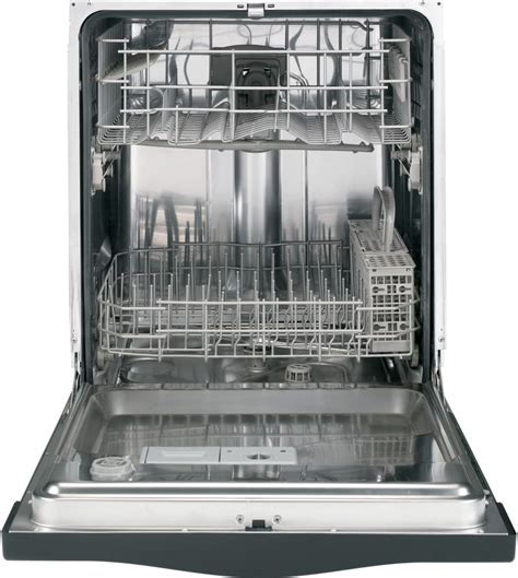 GE GLDA690FWW Full Console Dishwasher with Stainless Steel