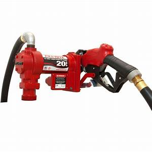 Fill 4 Hp Fuel Transfer Pump With Standard Accessories  Automatic Nozzle
