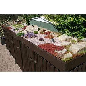 mülltonnenbox mit pflanzdach selber bauen m 252 lltonnen unterstand ii ii kaufen oder selber bauen ᐅ