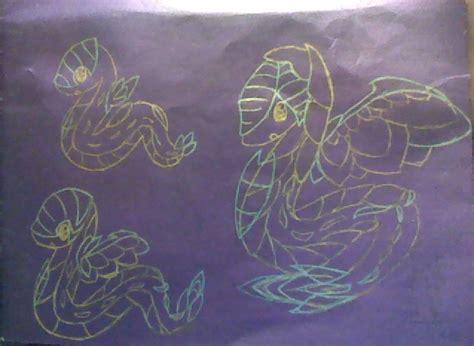 Grass Type Snake Starters! By Amysnake On Deviantart