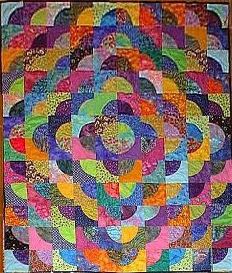 Drunkard?s Path Pattern   Patterns Gallery
